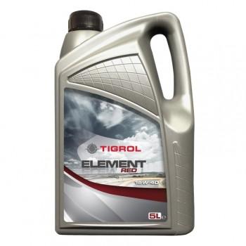 Olej motorový TIGROL ELEMENT RED 15W-40, pro osobní vozy 5L
