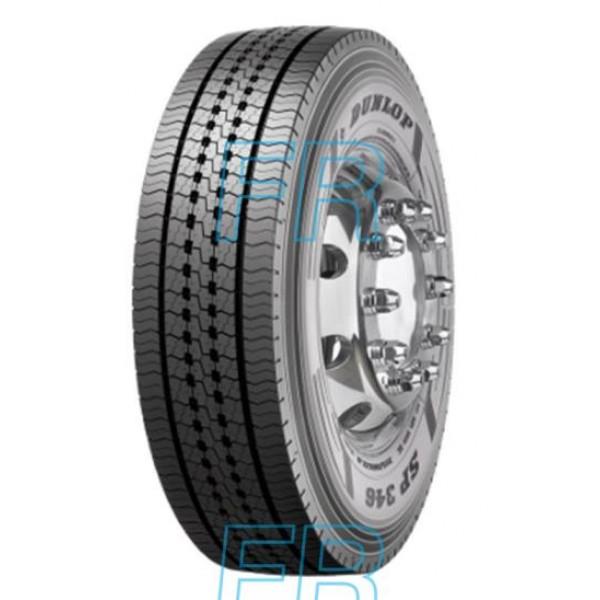 295/60R22,5 150/149K, Dunlop, SP 346