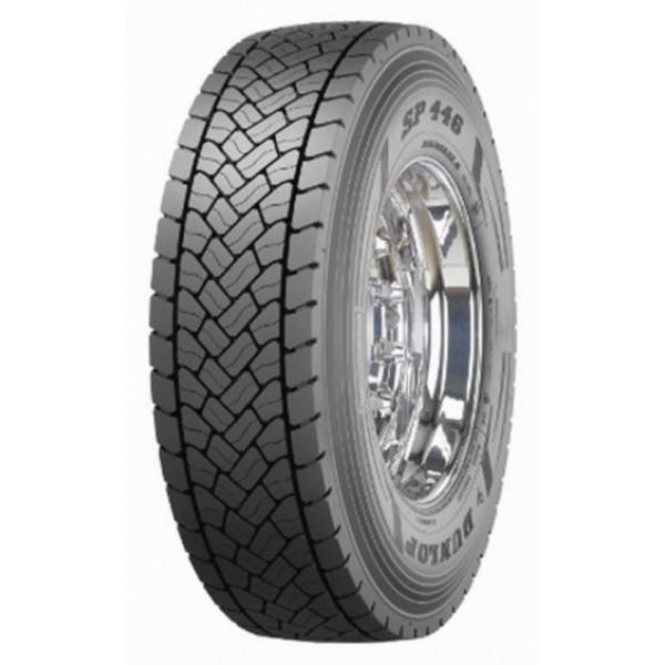 225/75R17,5 129/127M, Dunlop, SP 446